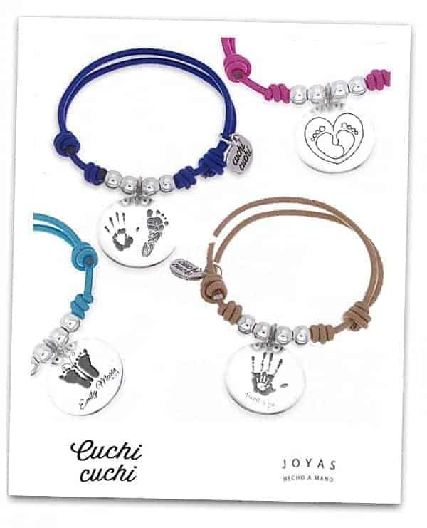 481b9335a668 ... regalos huella de bebe pie manos joyas personalizadas para regalar a  una madre