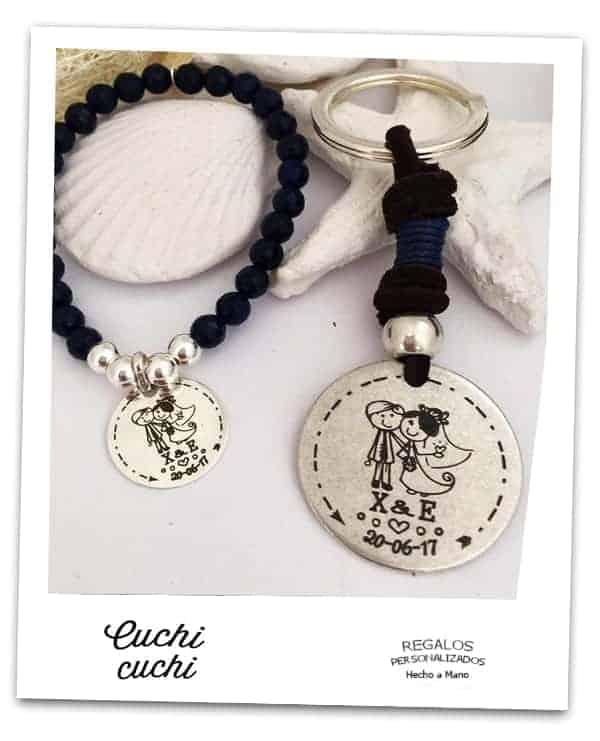 pulseras amigas novia regalos personalizados amistad