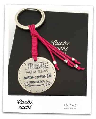 regalos para profes llaveros personalizados blog de joyeria