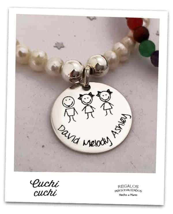 Ideas de regalo para mamas con el nombre de los hijos