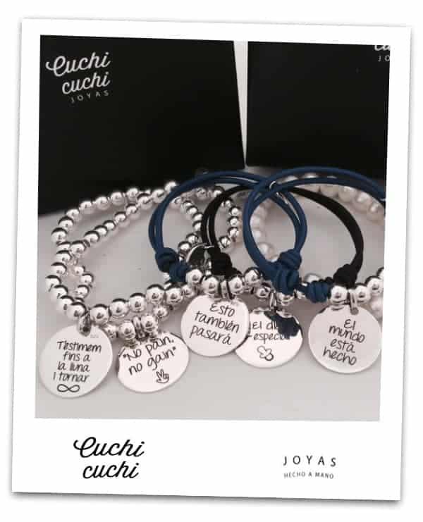 5f43042eb7fb Más regalos personalizados para amigas y pulseras con mensajes positivos  para 2018…