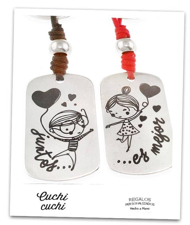 Llaveros para parejas regalos personalizados y joyeria - Regalos parejas originales ...