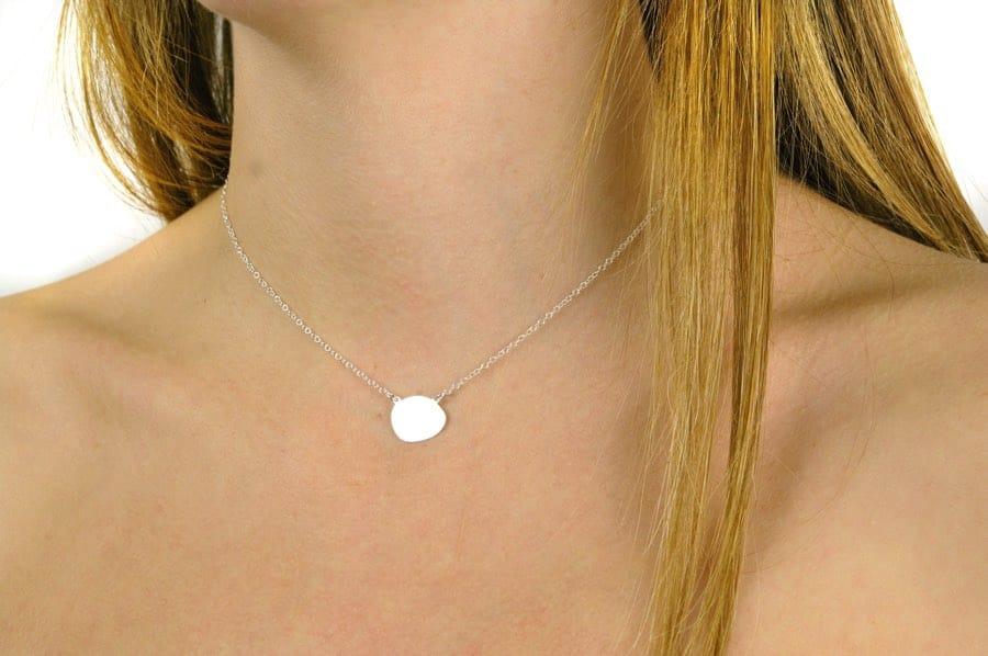 gargantilla ovalo personalizada regalo mujer