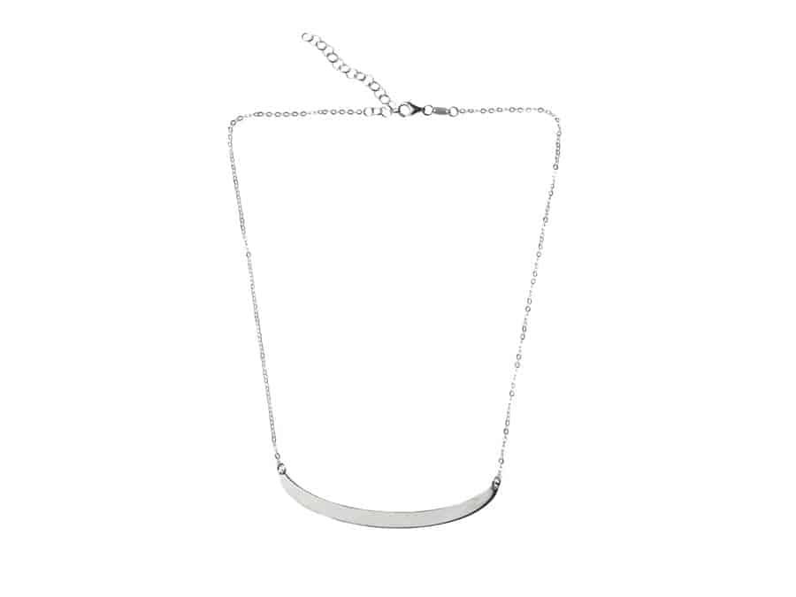 gargantilla de plata de ley regalo mujer personalizado