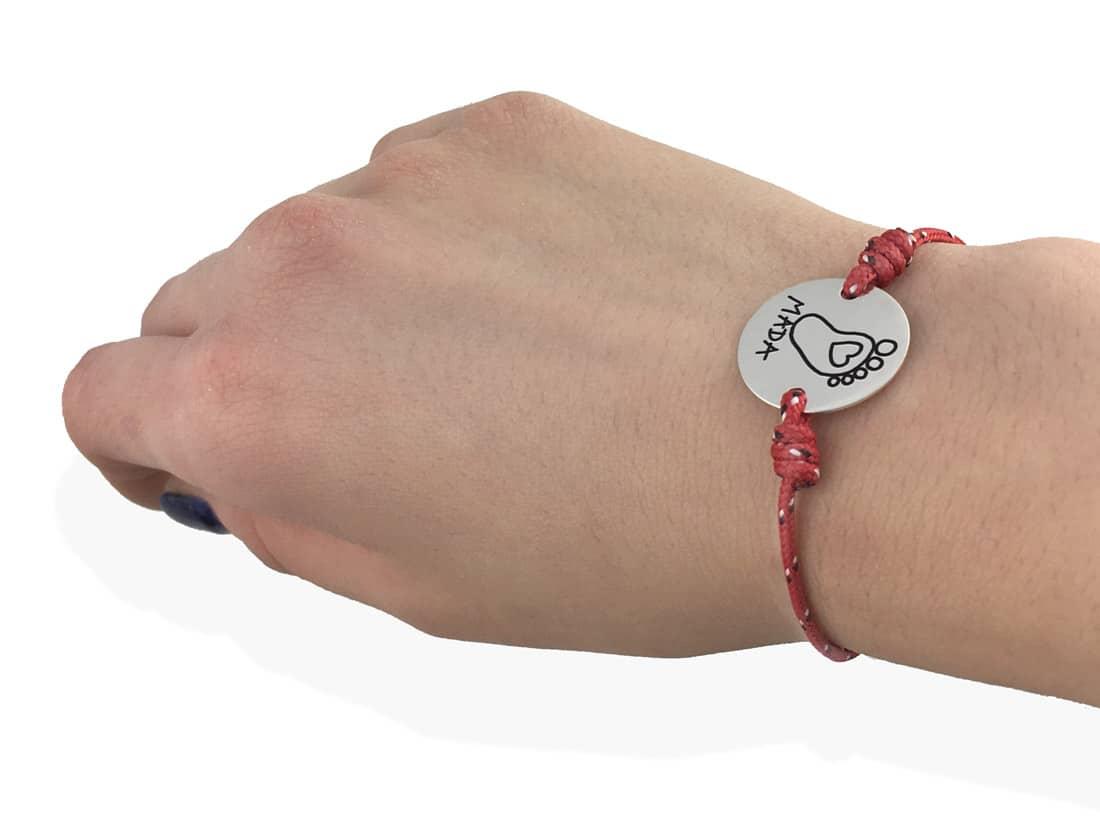 pulsera para hombre personalizada cordon nautico