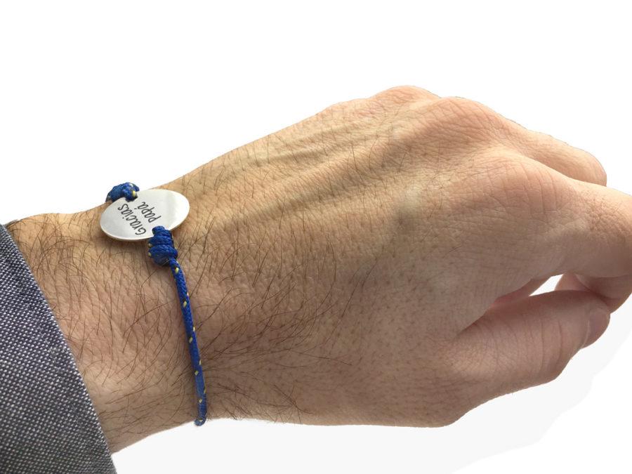 pulsera personalizada nautico hombre